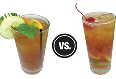 <i>Pittsburgh City Paper</i> Booze Battles: Spice Island Tea House vs. Franktuary