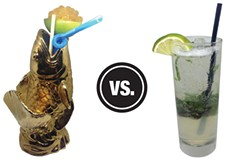 <i>Pittsburgh City Paper</i> Booze Battles: Hidden Harbor vs. Plum Pan Asian Kitchen