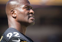 The NFL's latest feud with Pittsburgh Steeler James Harrison borders on the absurd