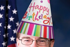 It's U.S. Rep. Keith Rothfus' birthday, so send him some social-media love