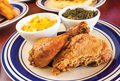 Soul Food on Hamilton, in Homewood, is a warm and welcoming spot