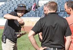 Pittsburgh Pirates ground crew shares its knowledge with local universities and school districts