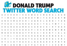 Donald Trump Twitter Word Search