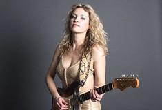 Ana Popović, a different kind of blues guitarist, plays Jergel's Rhythm Grille