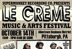 Free music festival Le Creme debuts in Allentown on Saturday with Living Colour, food trucks, vendors and more
