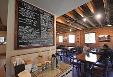 Friendship Perk and Brew is a cozy neighborhood spot in Bloomfield