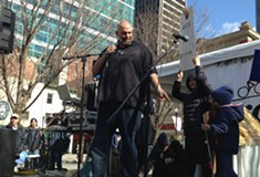 John Fetterman wants to unite the left to defeat the right in his run for Pennsylvania lieutenant governor