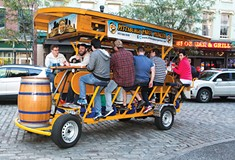 Party bikes are growing in popularity, and divisiveness.