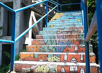 Four neighborhoods to install new public art on city steps