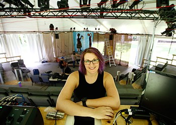 The ever-changing tasks of the production and stage manager of Quantum Theatre