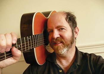 Monroeville cantor Henry Shapiroputs guitar at the center of his new crowdfunded klezmer album
