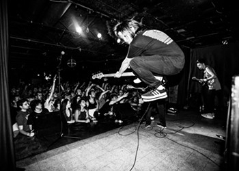 A night with PUP and Charly Bliss at Pittsburgh's Spirit