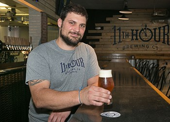 A homebrewer fulfills his dream at Eleventh Hour Brewing