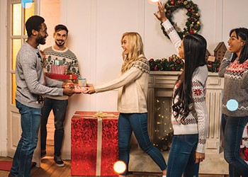 Spice up your holiday gift giving with a Dirty Santa Party
