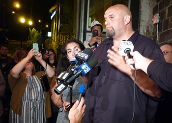 Braddock Mayor John Fetterman finds himself in the hot seat in campaign for Pennsylvania lieutenant governor