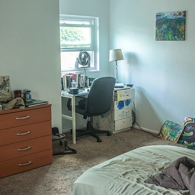A peek inside the living spaces of area college students