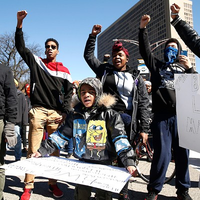 Pittsburgh protest in honor of Antwon Rose II