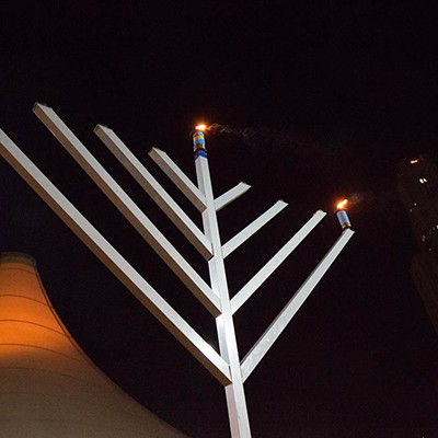 Pittsburgh celebrates Hanukkah
