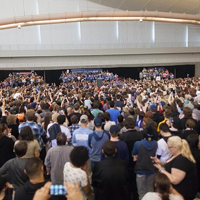 Bernie Sanders Rally Pittsburgh
