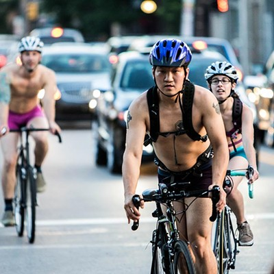 Underwear Bike Ride