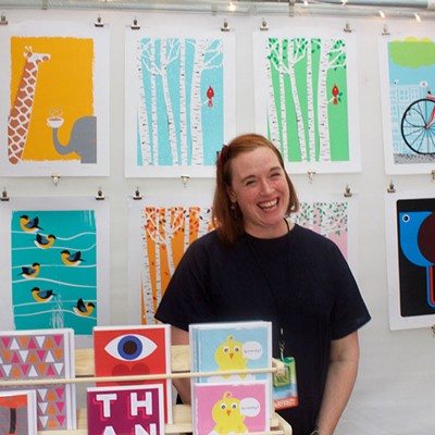 Pittsburgh artists sell goods at the TRAF Artist Market