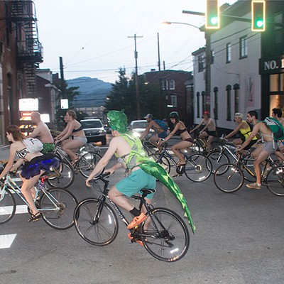 Pittsburgh Underwear Bike Ride