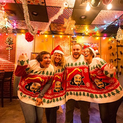 Tinseltown holiday pop-up bar
