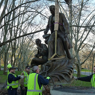 Pittsburgh officials remove controversial Stephen Foster statue