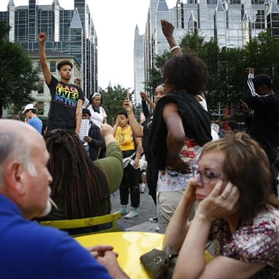 Pittsburgh protests for Antwon Rose