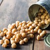 Love is warm, spicy chickpeas