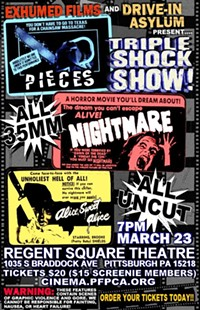 Come see Pieces, Alice Sweet Alice and Nightmare! - Uploaded by Sam Panico