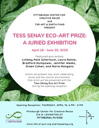 Tess Senay Eco-Art Prize Juried Exhibition - Uploaded by creativereuse