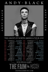 57b0d7a617bd Andy Black with Special Guests The Faim