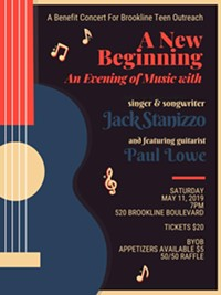 A New Beginning - Concert to Benefit Brookline Teen Outreach - Uploaded by Teencenter1