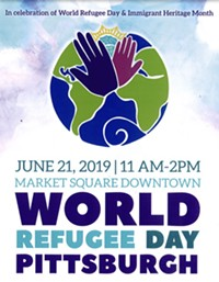 World Refugee Day Pittsburgh - Uploaded by Kyleigh Hall