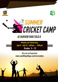 SUMMER CRICKET CAMP - Uploaded by CM