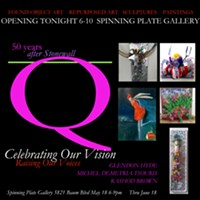 Recycled Re-purposed ReNewing  ART Exhibit at Spinning Plate - Uploaded by mischa1948