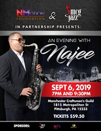 Najee will be performing at MCG on Sept 6! - Uploaded by shawnh