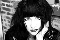 Lydia Lunch performs with musician Tim Dahl in Verbal Burlesque. - Uploaded by Manny Theiner