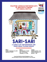 "PAPAGP's 8th Annual Recital: ""SARI-SARI"" - Uploaded by Philippine Folk Dance"