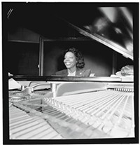 PHOTO COURTESY OF WILLIAM P. GOTTLIEB/IRA AND LEONORE S. GERSHWIN FUND COLLECTION, MUSIC DIVISION, LIBRARY OF CONGRESS - Mary Lou Williams