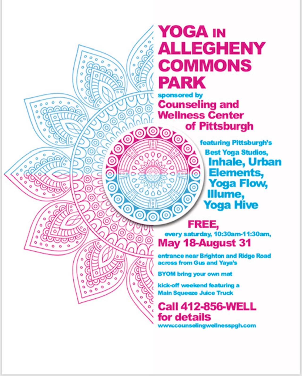 Yoga in Allegheny Commons Park | Allegheny Commons Park West