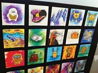 Unblurred gallery crawl