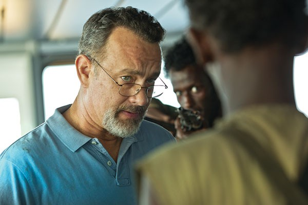 Under the gun: Tom Hanks as Capt. Phillips