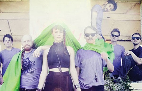 Using 'shrooms for health: Rubblebucket