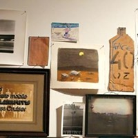 Bill Daniel's art installation explores the modern hobo lifestyle.
