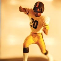 Visitors to Steeler Nation-themed exhibit <i>Whatever It Takes</i> sound off.