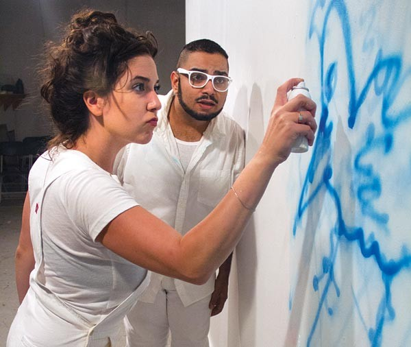Walldogs, at Hatch Arts Collective, Mallory Fuccella, Parag S. Gohel