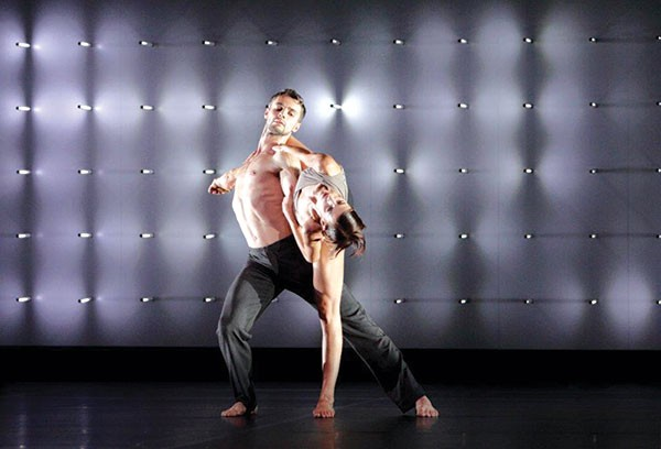Wayne McGregor/Random Dance performed Far at the Byham
