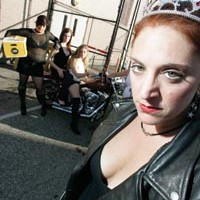 We camp out with<i> Chicks With Dicks:</i> <i>Bad Girls on Bikes Doing Bad Things</i>.